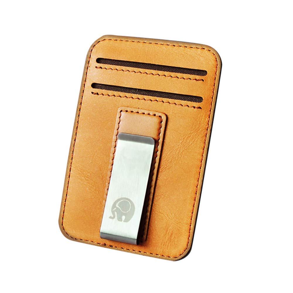 Cocoty-store 2019 Cartera Pequeña y Minimalista RFID 100 ...