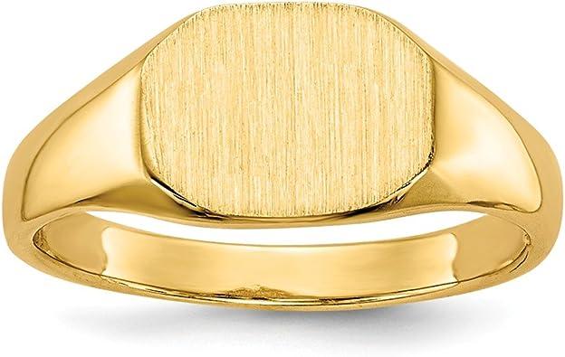 Mia Diamonds 14k Yellow Gold Oval Hoop Earrings
