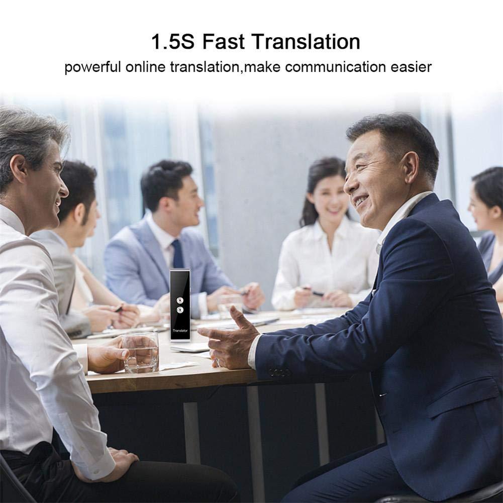 decaden Traduttore Smart,T8 Traduttore Intelligente Voice Translation Machine Dispositivo di Traduzione Tempestiva Multilingue
