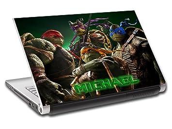 Amazon.com: Las tortugas Ninja TMNT personalizado Laptop ...