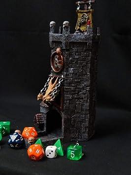 Mystic Pigeon Castillo de Juegos Torre de Dados para Mazmorras y Dragones / Juegos de Mesa: Amazon.es: Juguetes y juegos