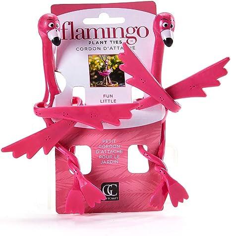 Amazon.com: Flamingo planta Ties- Juego de 2: Jardín y ...