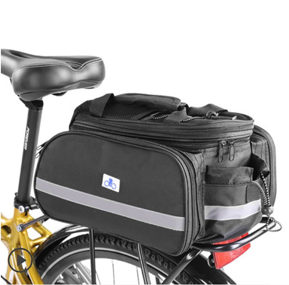 Ruix自転車バッグマウンテンバイクキャリーバッグシェルフライディング機器アクセサリーテールバッグ背面シート自転車バッグ   B07DYVL9WP