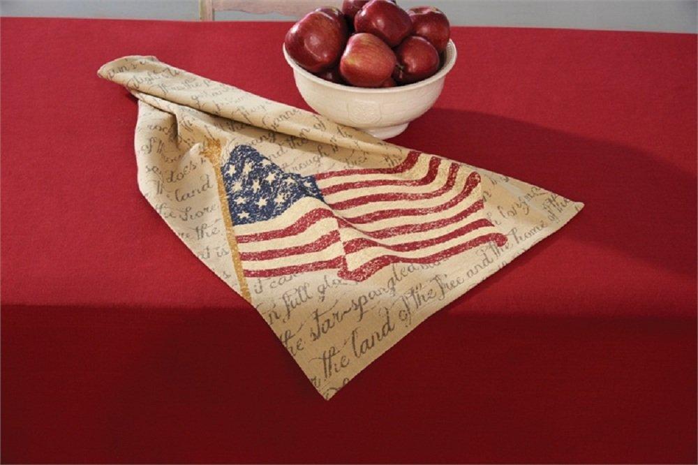 Park Designs Printed Flag Cotton Dish Towel Cleaning Dust Cloths Kitchen Linens by Park Designs