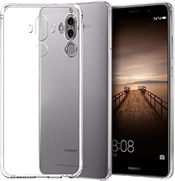 REY Funda Carcasa Gel Transparente para Huawei Mate 9, Ultra Fina ...