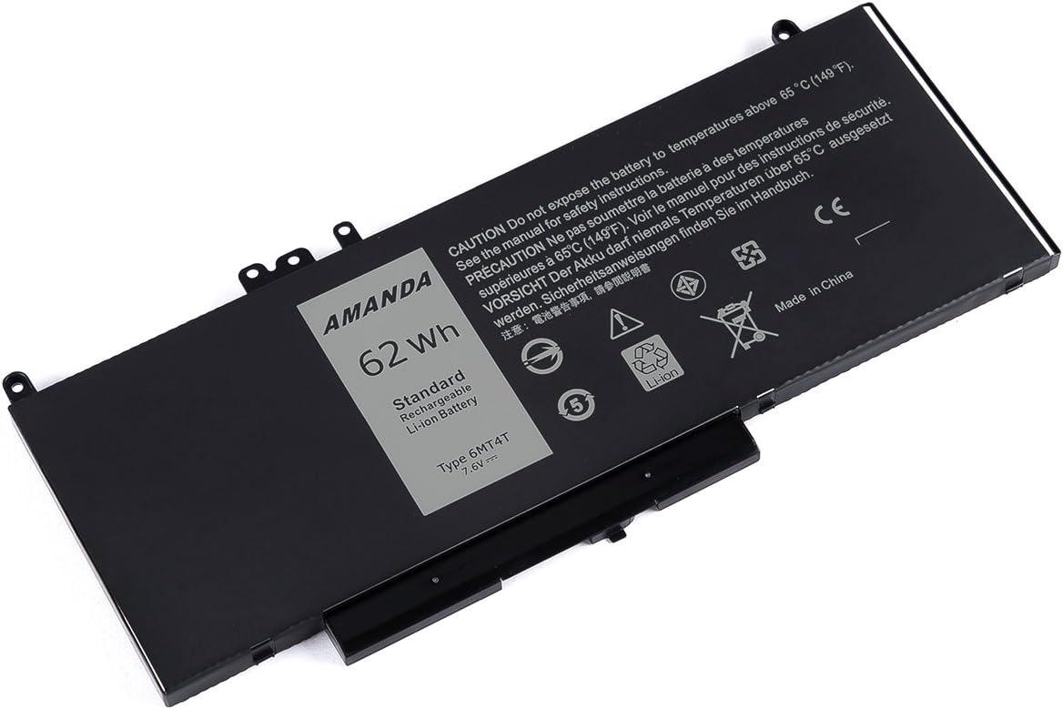 ersetzt: 0R9XM9 08V5GX GRS Akku Dell Latitude E5450 7V69Y E5570 ...