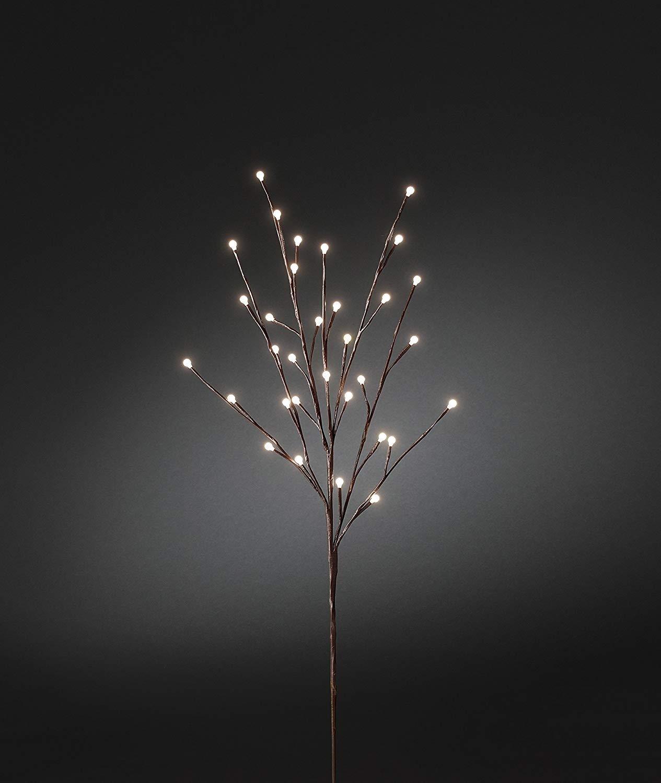Innenräume Draußen Lichterketten Led Streifen Weihnachts Innenbe Außenbe Lauflichter Lichtschläuche Garten-Fackeln Spezial Stimmungsbeleuchtung LED Dekoration  Lichtabzweig 1m , braun   extern (IP44)   24V externer Transformator   32 warmweiße Diode   bra