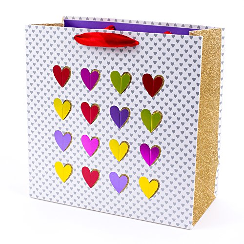 Hallmark Signature Large Gift Bag (Multi Heart) ()