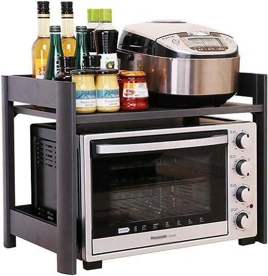 Amazon.com: Estantería de almacenamiento para cocina/horno ...