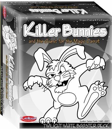 Killer Bunnies Red Booster Deck (Killer Bunnies Twilight White Booster)