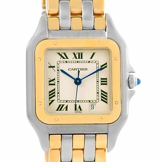 Cartier Panthere de Cuarzo Mens Reloj Cartier W25028B6 (Certificado) de Segunda Mano: Cartier: Amazon.es: Relojes