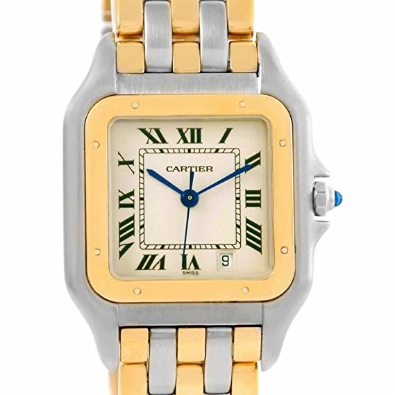 Cartier Panthere de Cuarzo Mens Reloj Cartier W25028B6 (Certificado) de Segunda Mano