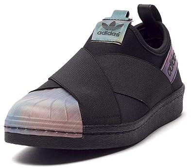 Adidas On Slip Sneakers SchwarzSchuhe Damen Superstar Xn80wOPNk