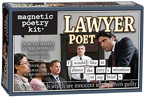 Magnetic Poetry Lawyer Refrigerator Letters product image