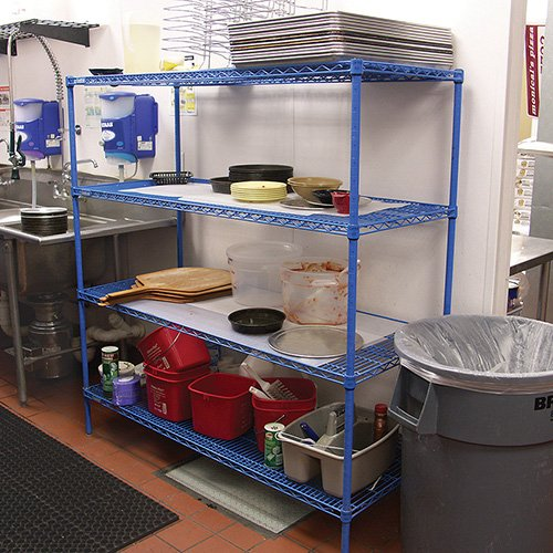 Heavy Duty Wire Shelving - 48