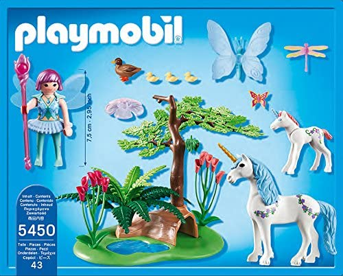 Playmobil  5450 Fata Aquarella nella Radura degli Unicorni