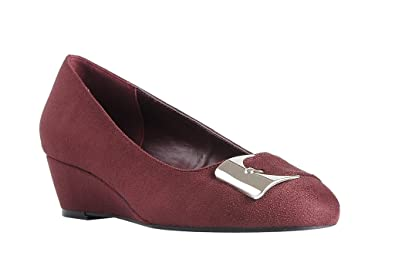 b9532a20ec87 Impo GUSTINE Wedge Shoe