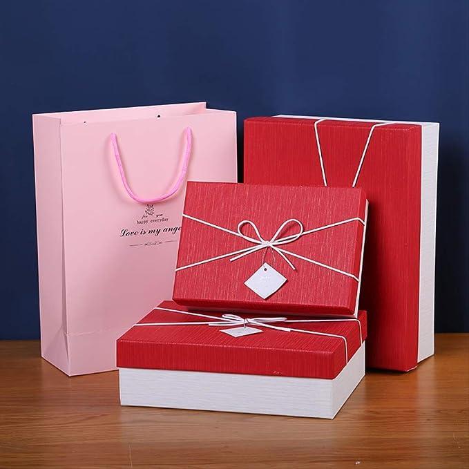 Caja de regalo Embalaje para hombres y mujeres Cumpleaños ...