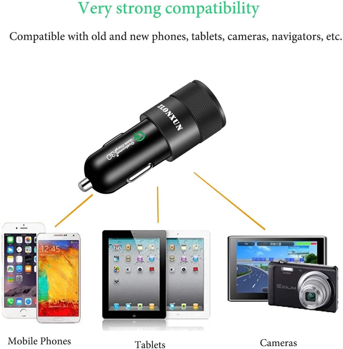 Fast Car Charger with PD Port and USB Port C to C Cable for Google Pixel 4//3//2 XL//3A XL//2XL//3XL//4XL,LG G7//G6//V20//V30,Moto G7 Series//G6//G6 Plus//Moto X4