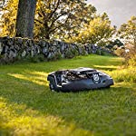 Husqvarna automower 310, robotic lawn mower 17 smart home meets smart lawn - manage your lawn with the touch of a button and maintain a yard your neighbor's will envy; the connect@home app allows you to set and adjust your automower's cutting schedule with ease (bluetooth connectivity works up to 100 ft) guided by hidden boundary wires, automower knows how to smartly maneuver around your yard and when to return to the charging station for a battery recharge quiet enough to run at night, you'll never have to worry about disturbing your neighbors again with noise or fumes