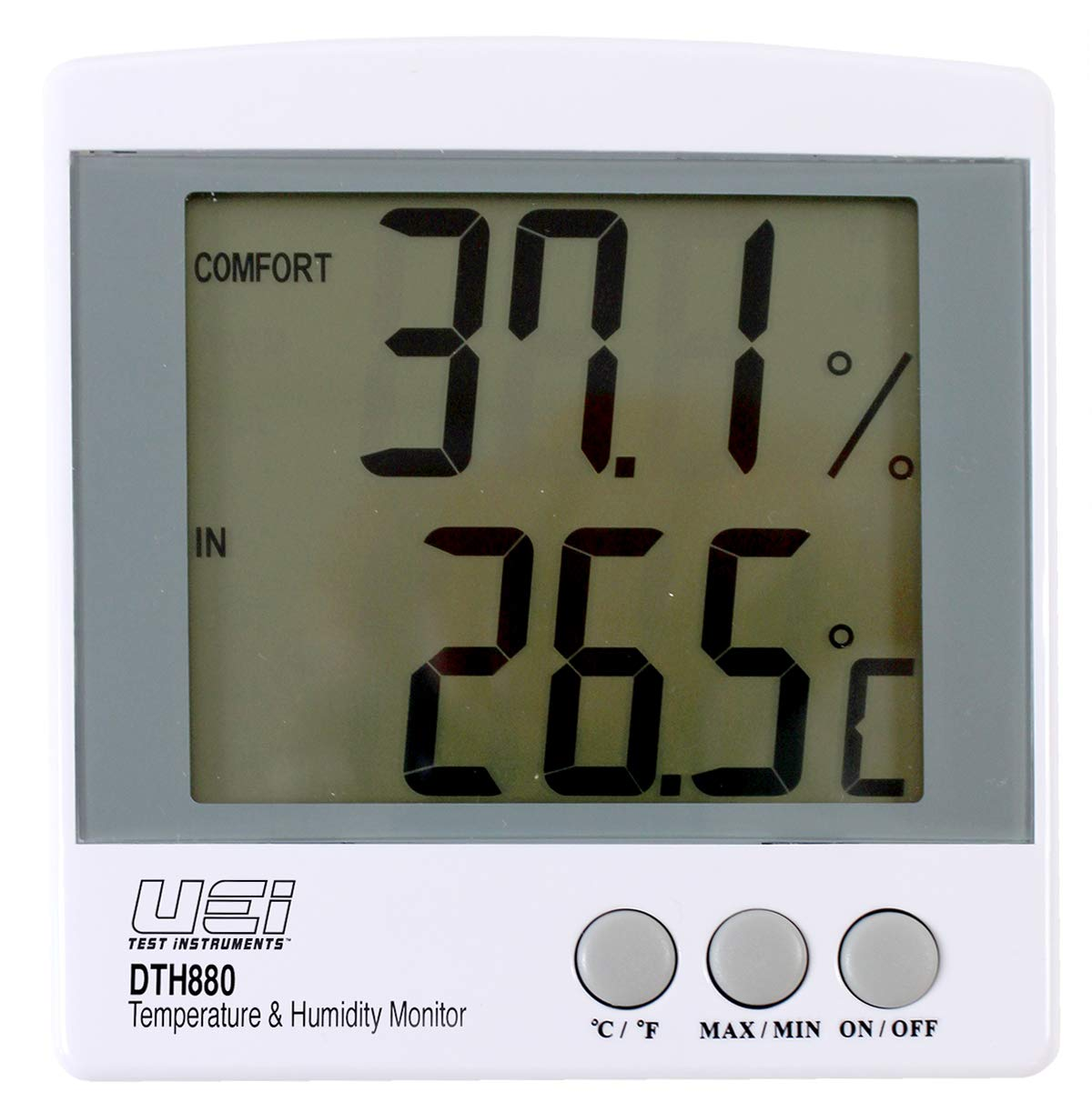 Universal Enterprises DTH880 Wall Mounted Temperature and Humidity Tester