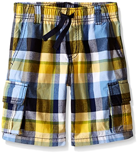 Plaid Boys Shorts (Gymboree Big Boys' Plaid Cargo Short, Multi, 7)