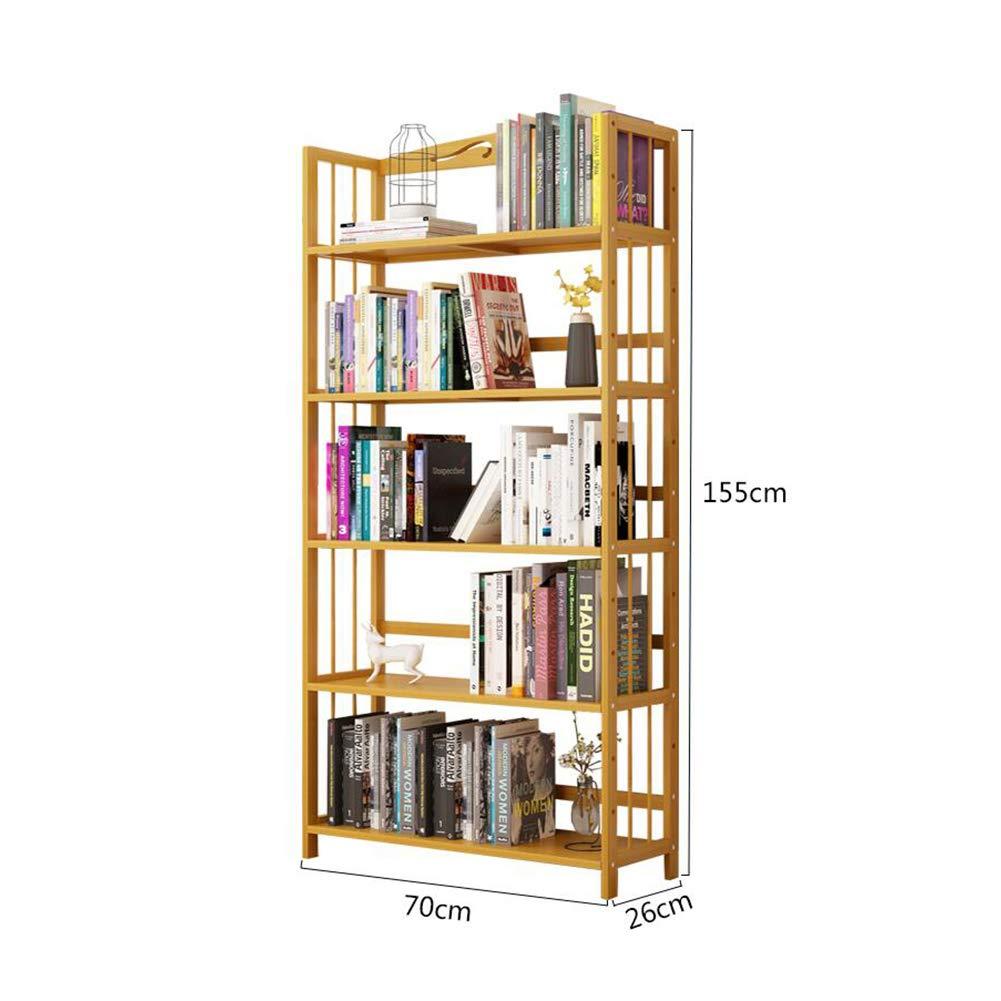 7026155cm Bücherregale Bücherschrank Bambus Lager Stand Handtuch Gestell Bücher Romane Zeitschriften Badezimmer CJC (größe   70  26  155cm)