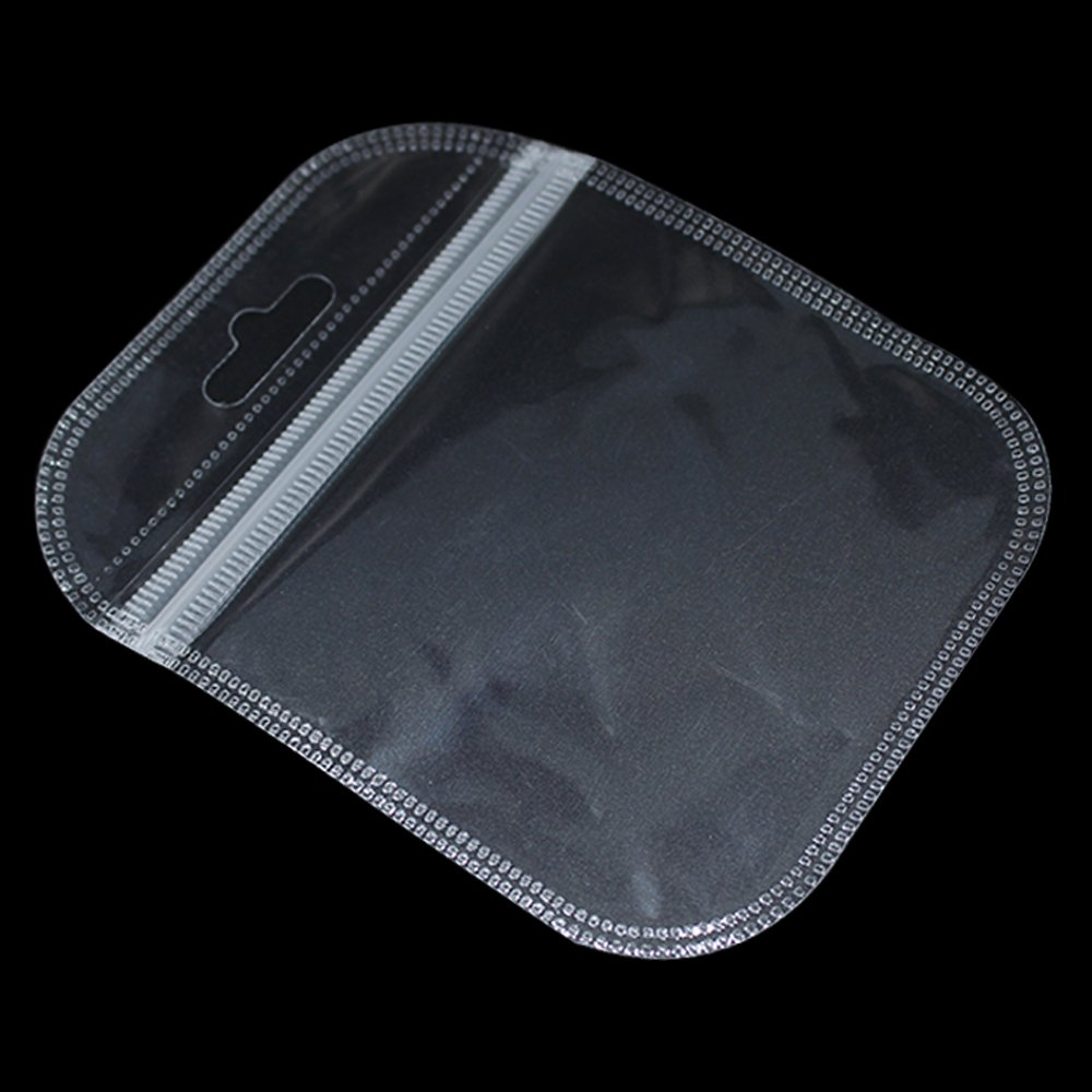 2500 PCS 3.3x4.3 inch Clear Plastic Reclosable Zipper Poly Bags Portable Reusable Grocery Electronics Products Storage Pouches for Traveling Outside Camping Sports Ziplock Airtight Polybag