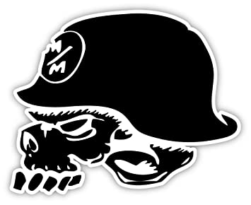 American Freestyle Motocross Association AFMXA Metal Mulisha Sticker Decal 5quot