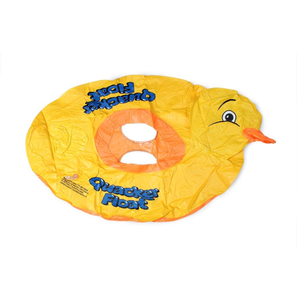 ewinever(TM) 1pcs natación del verano de los niños del bebé inflable de la piscina del flotador del asiento del barco flotante balsa inflable anillo Pato ...
