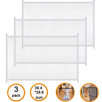 Amazon com : 3 Pack Magic Gate for Dogs, 47 2 x 28 3 inch