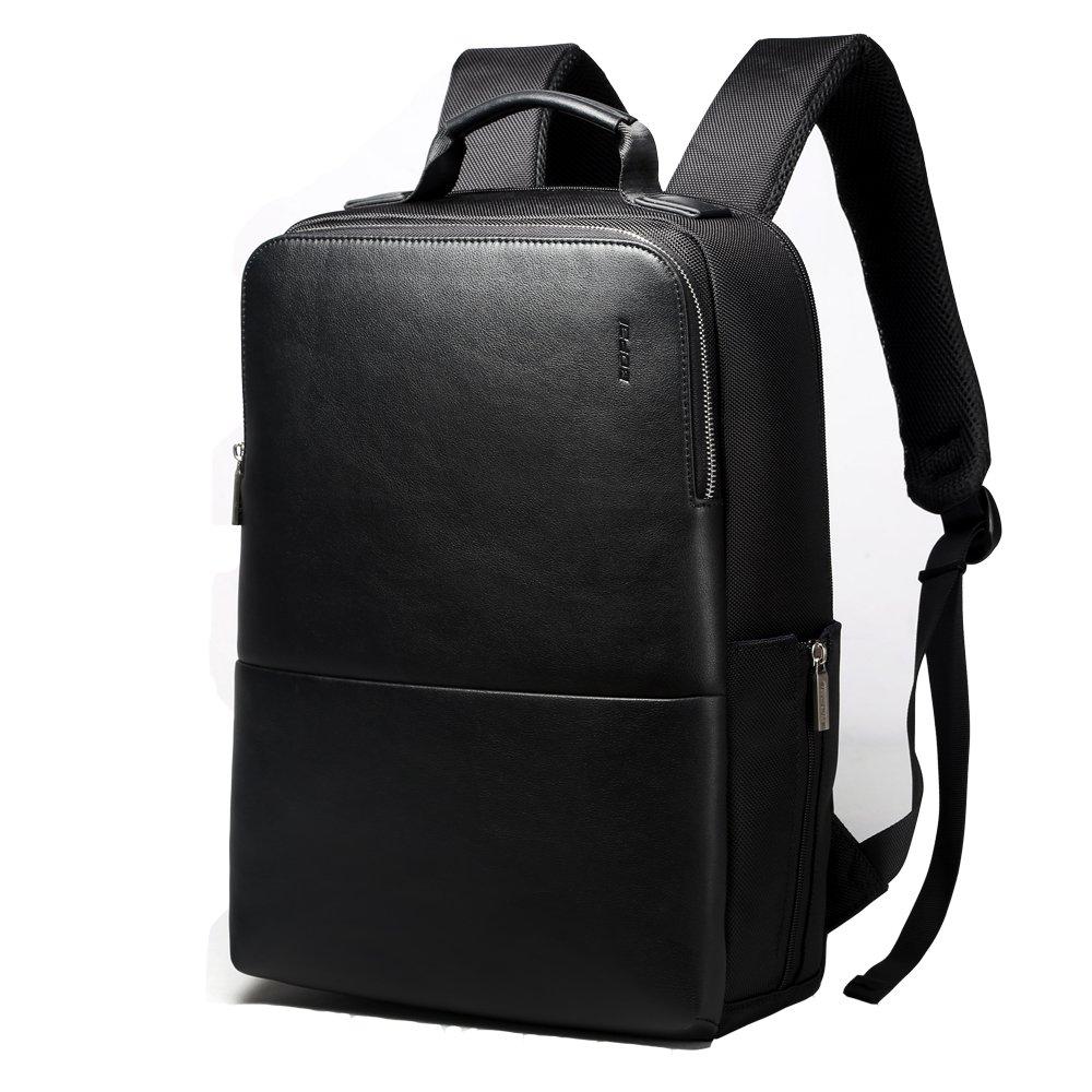 2dbaf6c6efce BOPAI Backpack 15 inch Laptop Business Backpacks with Laptop Compartments  Waterproof City Bag Lightweight School Rucksack for Men Business Backpack -  Black
