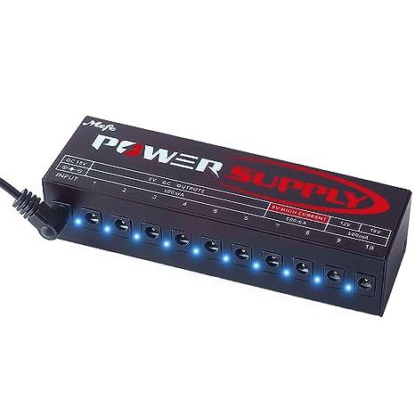 MEFE MP-1 - Pedales de efectos para guitarra (salida de corriente ...