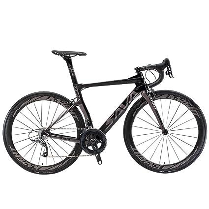 Amazon.com : SAVADECK Phantom 5.0 700C Carbon Fiber Road Bike ...