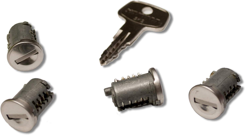 4-Pack Yakima SKS Lock Core with Key