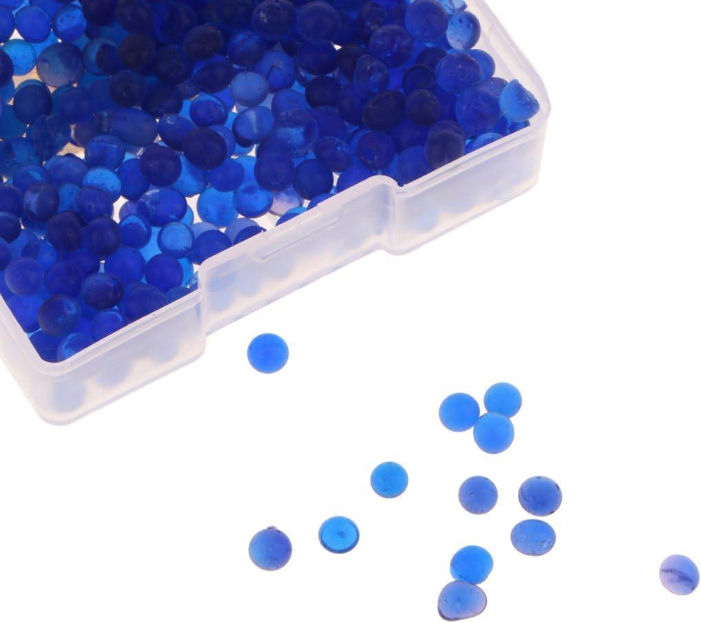 Baoblaze Utiles Dess/échant Gel de Silice pour Absorber Humidit/é Perles Bo/îte pour Engins de P/êche Cam/éra Bleu