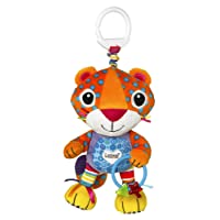 Lamaze Purring Percival Clip On Pram and Pushchair Baby Toy