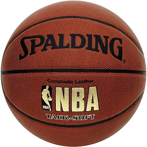 "029321625952 - Spalding NBA Tack Soft Basketball - Official Size 7 (29.5"") carousel main 0"