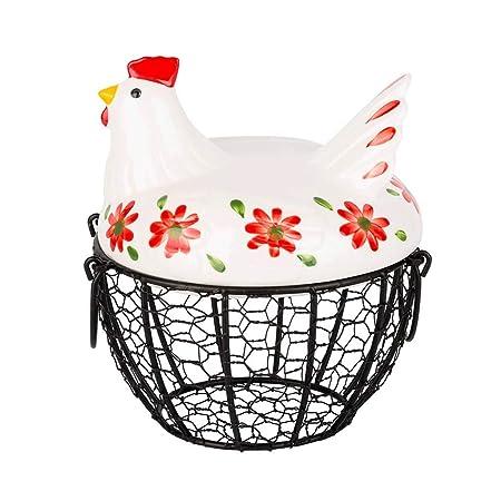 Canasta Para Huevos Manualidades.Ellyeall Canasta De Huevos Estilo Granja Almacenamiento