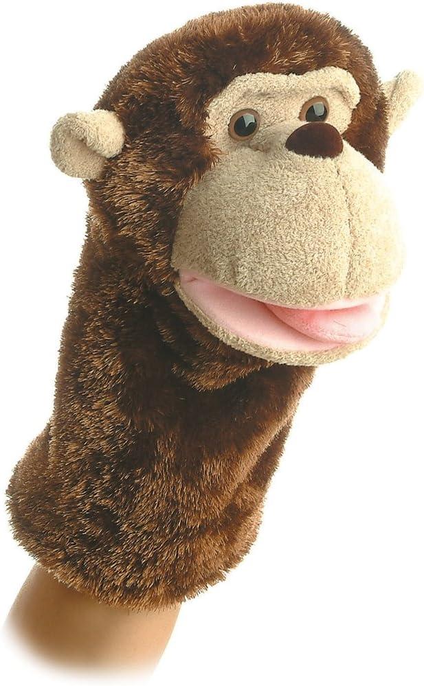 """Aurora World Montgomery Monkey seits Puppet 10"""""""