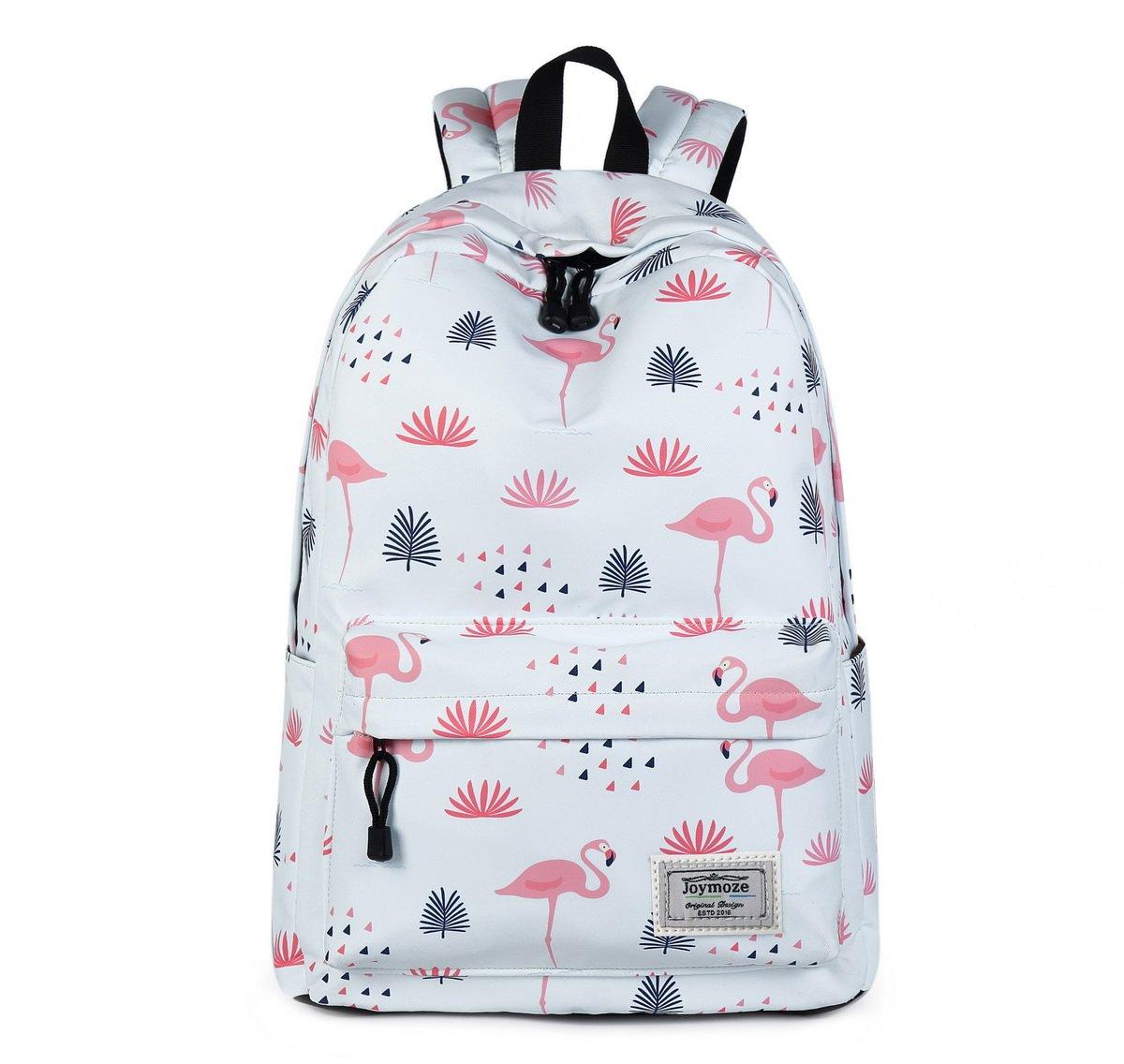 c75617502ad Joymoze Fashion Leisure Backpack for Girls Teenage School Backpack Women  Print Backpack Purse Flamingos durable service