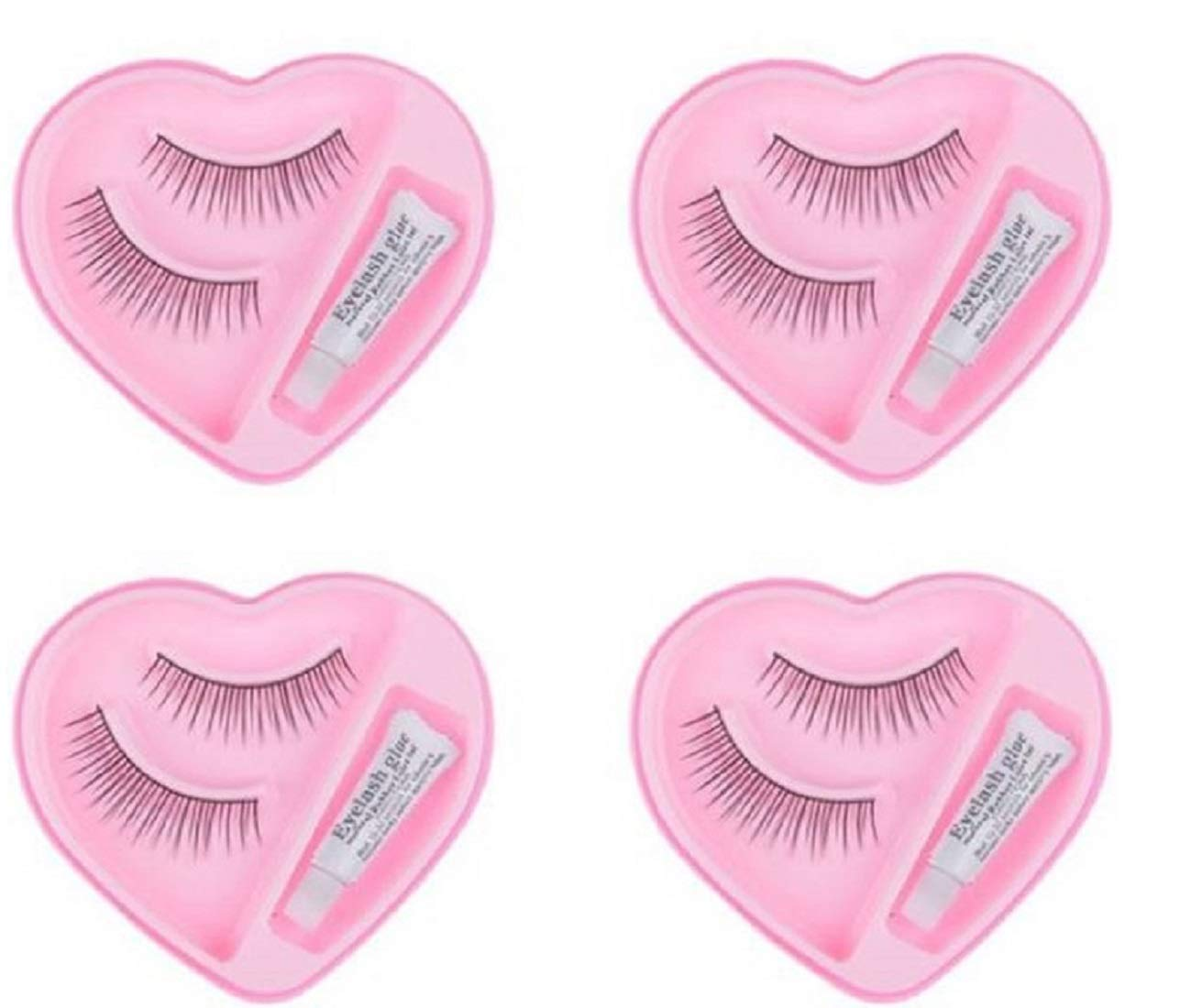 Buy Boldnyoung Black Long False Eyelashes With Glue For Pretty Eye