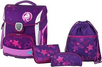 Set de Mochila Escolar Plus con Estuche y Bolsa de Deporte, Estrellas, Ligera, ergonómica, 4 Piezas: Amazon.es: Equipaje