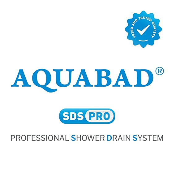 Couvercle//grille acier inox MODERNE 90cm pour AQUABAD/® SDS Pro caniveau de douche Couverture seulement!