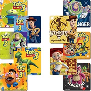 Disney Toy Story Sticker Pack - Birthday Party Favors - 125 per Pack