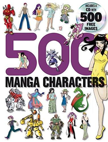 500 Manga Characters (500 Manga)