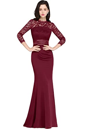c7d753e792 Babyonlinedress Babyonline Women Lace Homecoming Prom Dresses Long Mermaid  Evening Formal Dress at Amazon Women s Clothing store