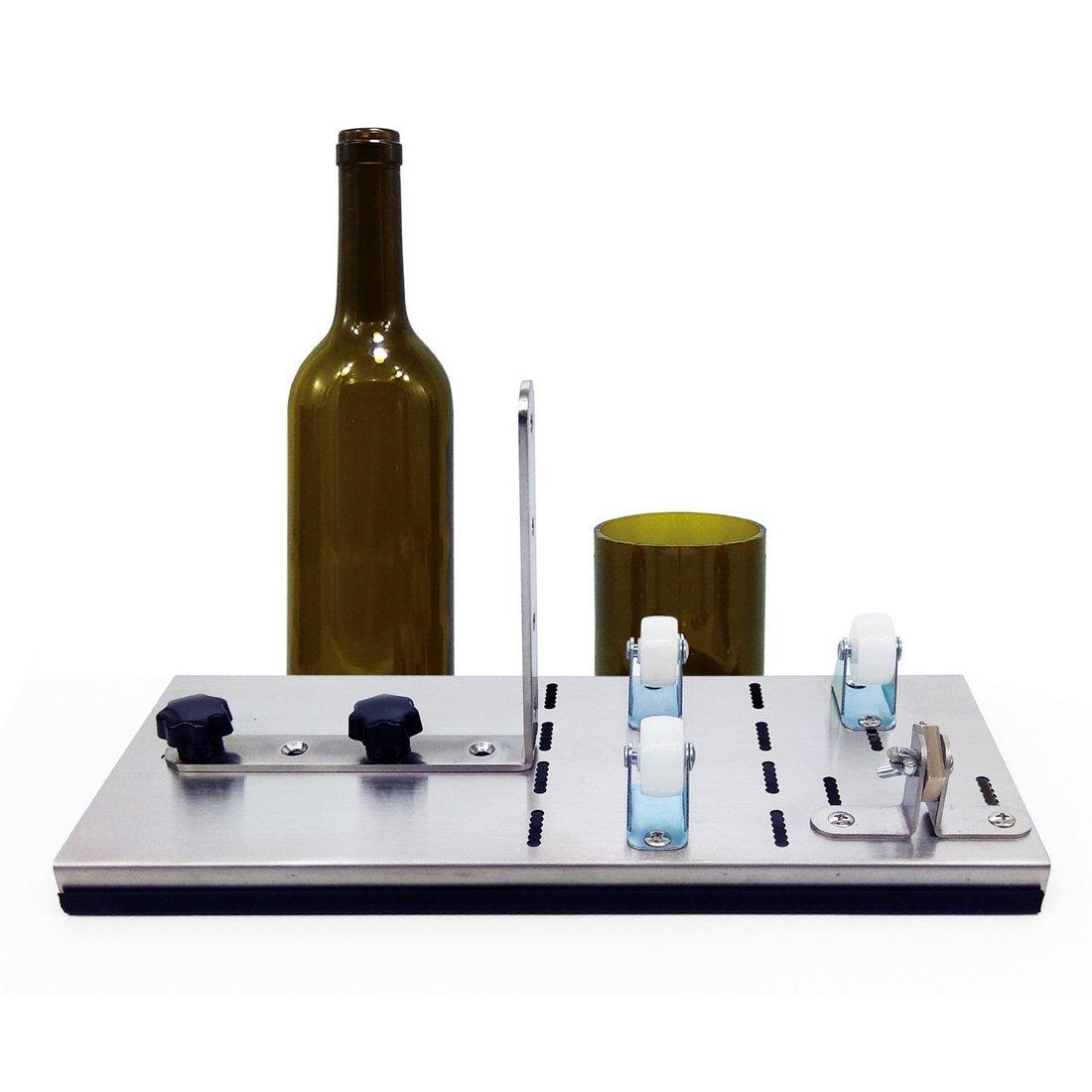 Cortador de cristal para botellas de vino, herramienta de corte de cristal para botellas de agua de champán o de soda: Amazon.es: Juguetes y juegos