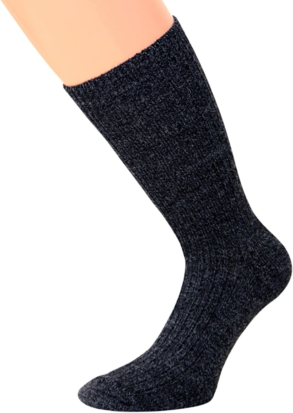 Wollsocken Norwegersocken Wintersocken mit Frotteesohle Thermosocken KB Socken