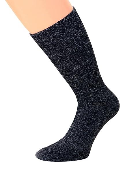 kb-Socken NORUEGO Calcetines Calcetines de sin goma Invierno Calcetines con suela de felpa, Gris, 1 par: Amazon.es: Ropa y accesorios